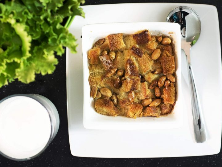 Sweet Custard Bread Pudding