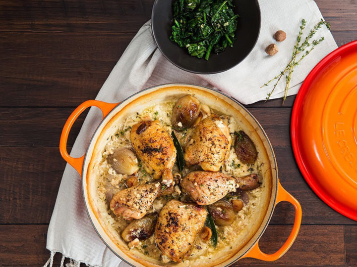 Milk Braised Chicken