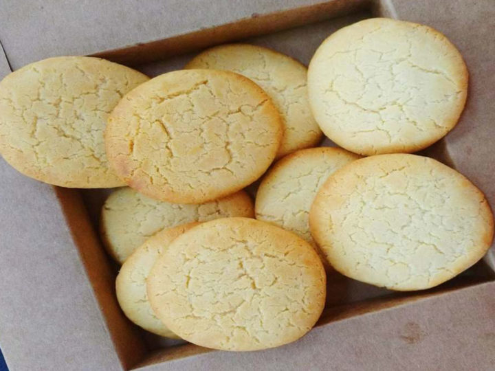 Eggless Milk Biscuit