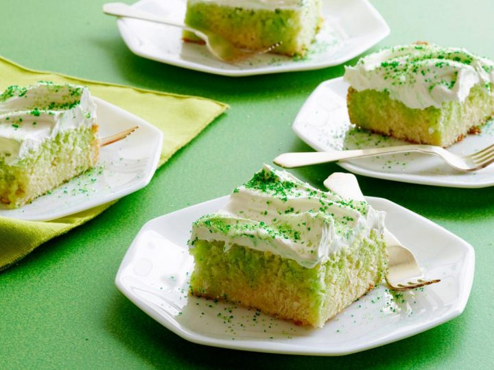 Lime Pudding Cakes
