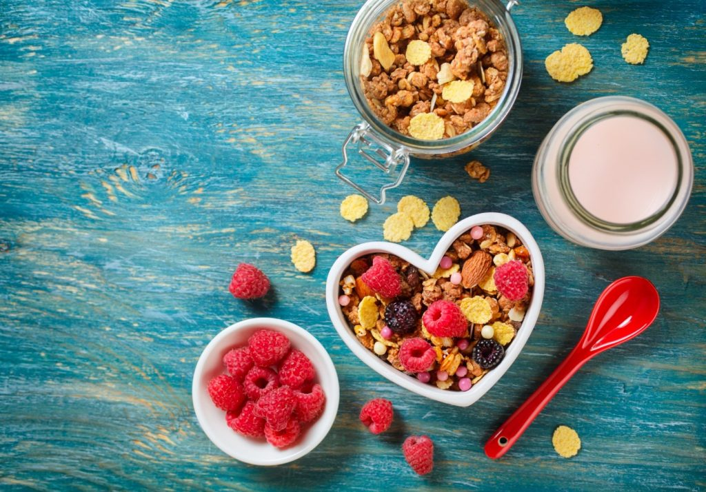 Substituting Junk Foods For Healthy Foods