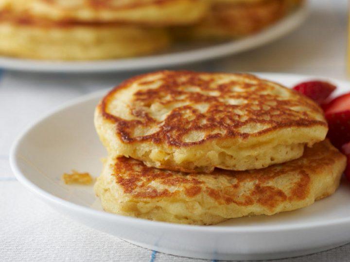 Flourless Oat Pancakes