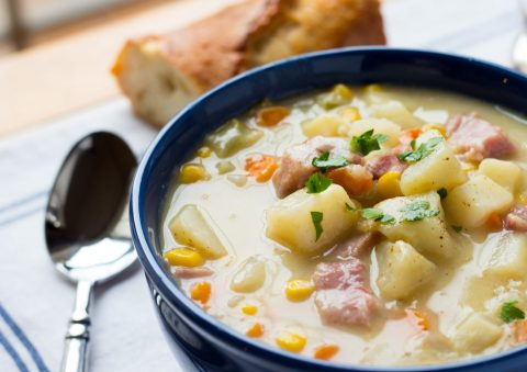 potato corn-chowder