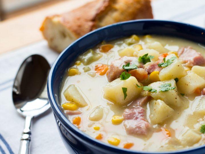 Potato Corn-chowder