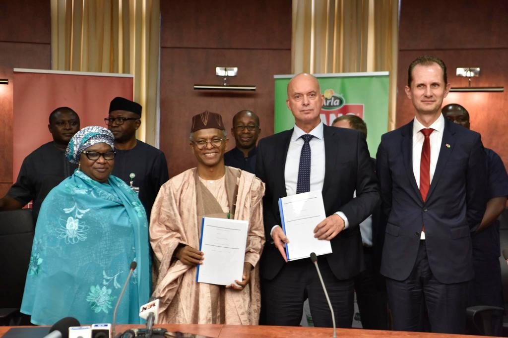 Arla foods Signs MoU with Kaduna State Government