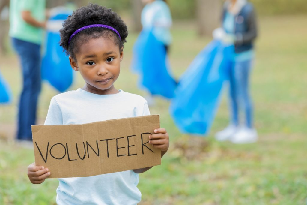 child volunteer